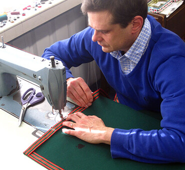 Simon Lucas : How I Make The BC07G Baize Bridge Cloth