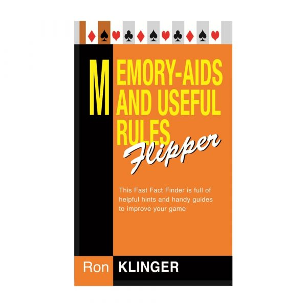 Memory Aids and Useful Rules Flipper by Ron Klinger