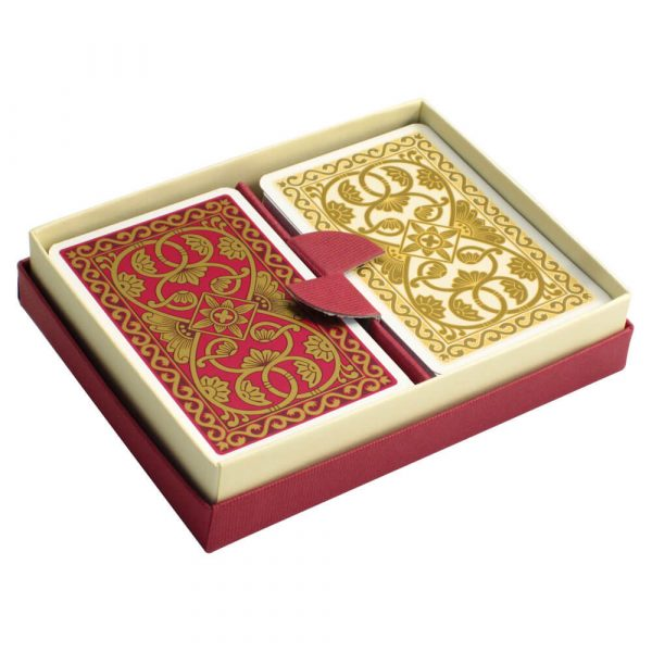 Emporium Playing Cards Pink and Vanilla