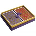 Emporium Playing Cards Purple and Pink