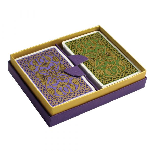 Emporium Playing Cards Purple and Green