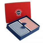 Premium Quality 330 Playing Cards Presentation Boxed