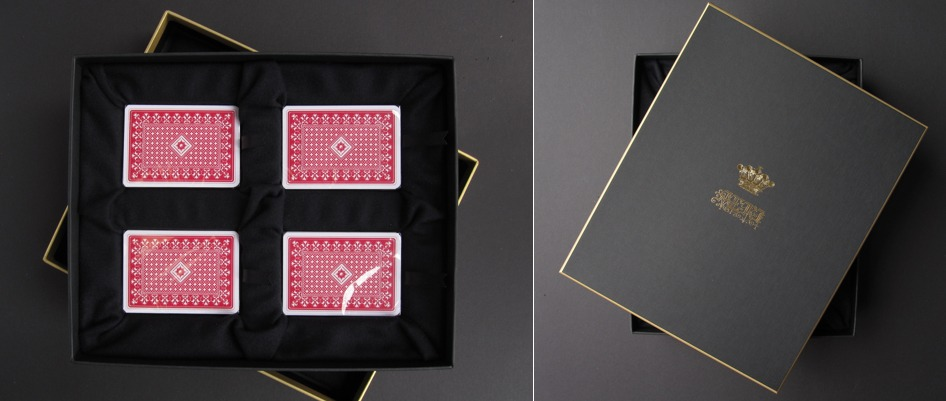 one off playing card boxes