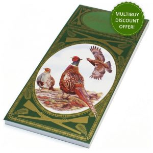 Simon Lucas Bridge Score Pad - Game Birds