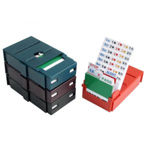Pocket Bridge Partner Bidding Boxes