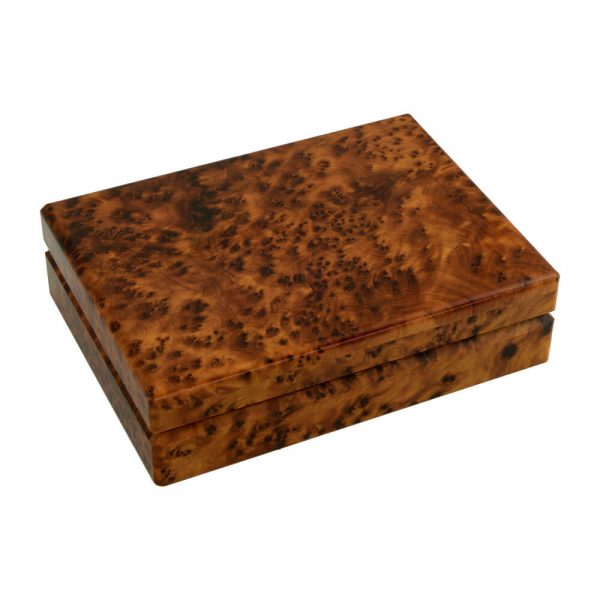 Luxury Thuya Wood Playing Card Box