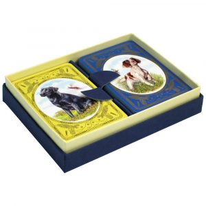 Labrador & Spaniel Playing Cards for Bridge
