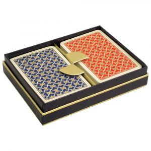 Helios Bridge Playing Cards - Red and Blue