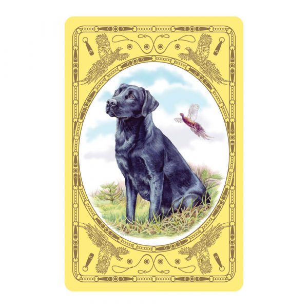 Black Labrador Playing Card Design