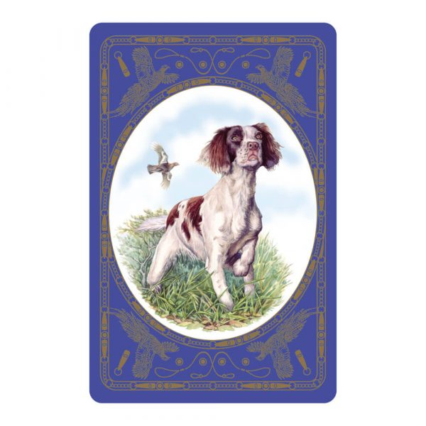 Springer Spaniel Playing Card Design