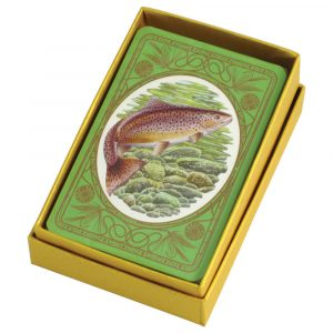 Brown Trout Playing Cards