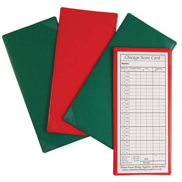 Score Card Holders for Bridge