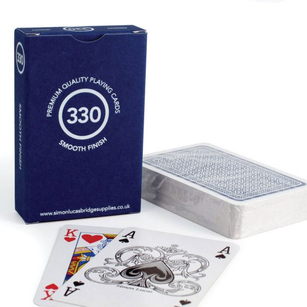 Premium Quality '330' Playing Cards - Blue