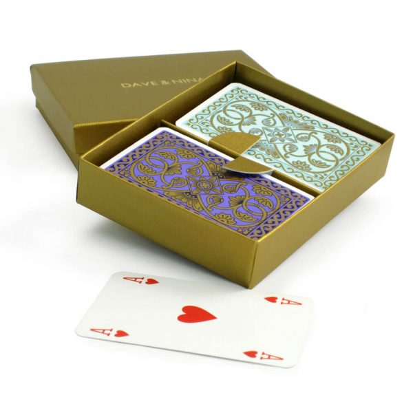 Emporium Playing Cards in a Personalised Presentation Box