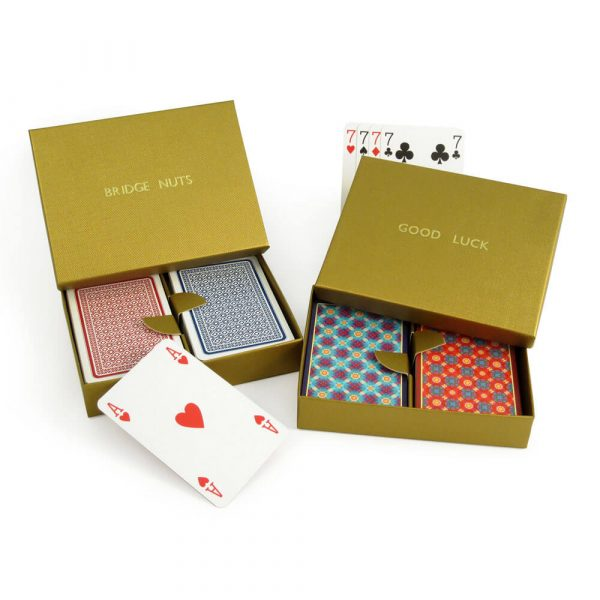 Murano and 330 Playing Cards in a Personalised Presentation Box