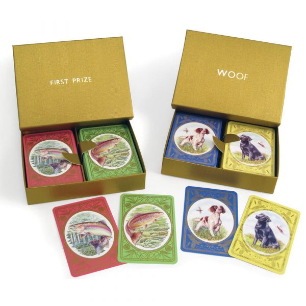 The Countryside Collection Playing Cards in a Personalised Presentation Box