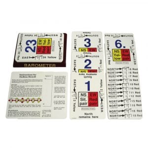 Guide Cards for Barometer, 6-24 Tables, Endless Howell