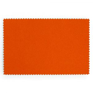 Bright Orange Extra Wide British Baize