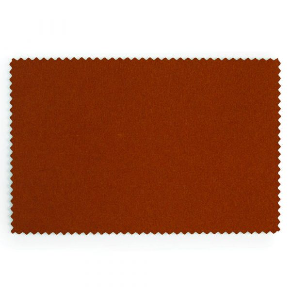 Burnt Orange Extra Wide British Baize