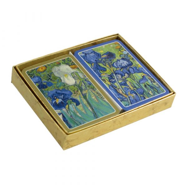 Caspari Playing Cards - Van Gogh Irises