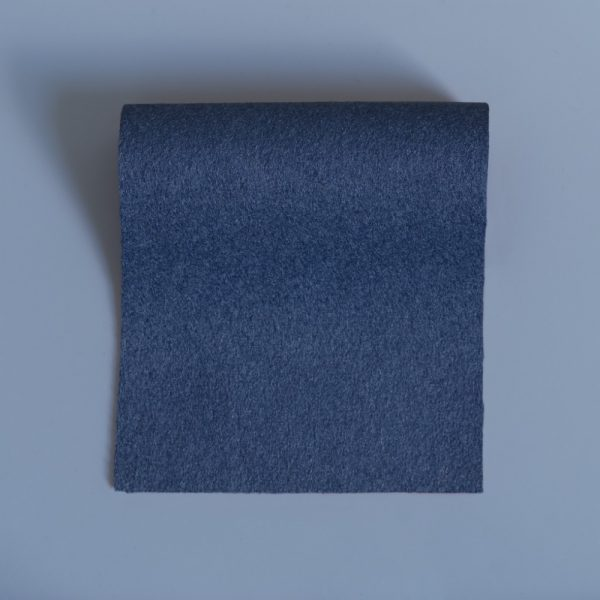 Grey Blue Extra Wide British Baize