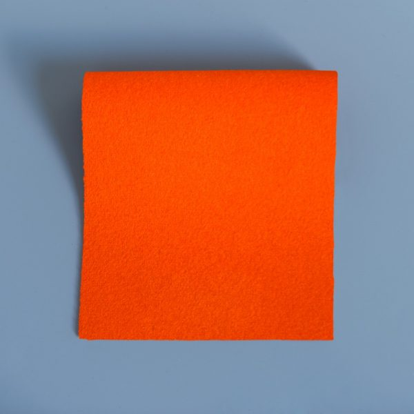 Bright Orange Extra Wide British Baize