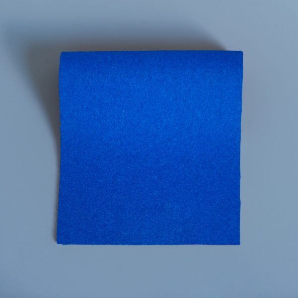Electric Blue Extra Wide British Baize