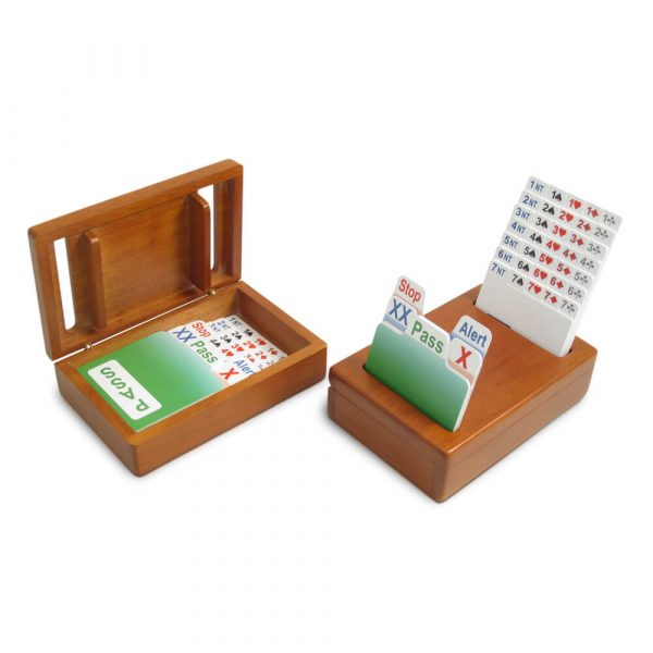 Wooden Bridge Bidding Boxes, Cherry