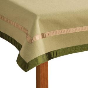 Penhallow's Bridge Cloth - Thrift and Samphire Colourway Corner Detail