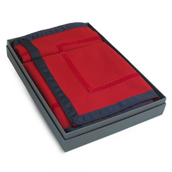 Penhallow's Bridge Cloth - Harbour Yachts Colourway in a Handmade Presentation Box