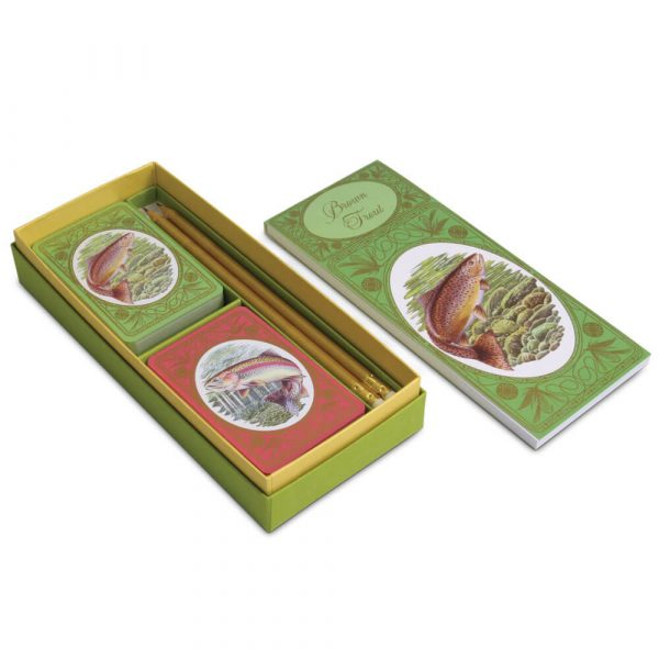 Brown Trout Gift Set for Bridge
