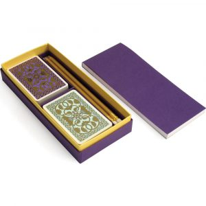 Emporium Gift Set Purple and Duck Egg
