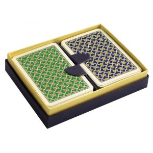 Helios Playing Cards Green and Blue
