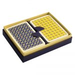 Helios Playing Cards Blue and Yellow