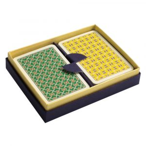 Helios Playing Cards Green and Yellow