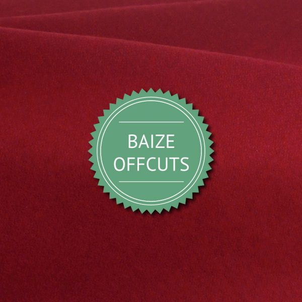 Burgundy Baize Remnants