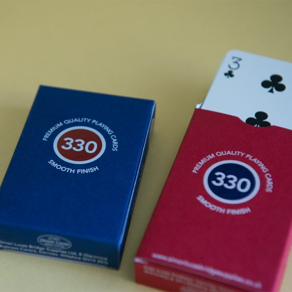330 high durability playing cards
