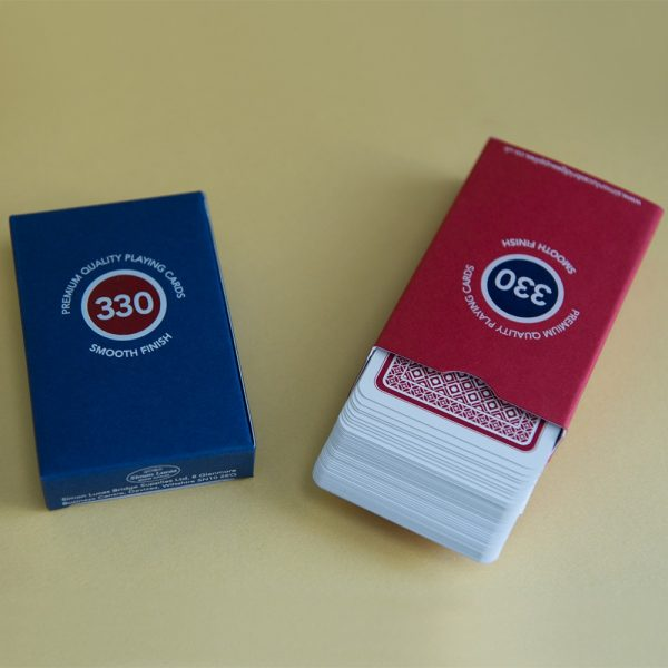 330 limited edition playing cards
