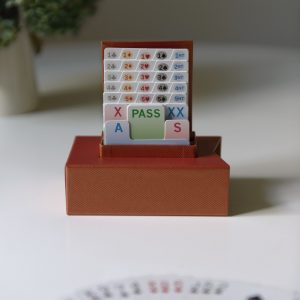 British Bidder Bridge Bidding Box