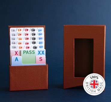Introducing the British Bidder - a 100% UK Made Bridge Bidding Box
