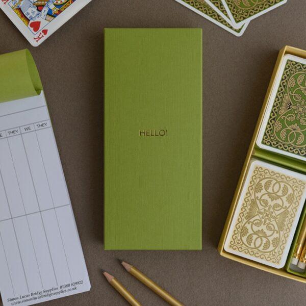 Personalised Bridge Gift Sets from our emporium range