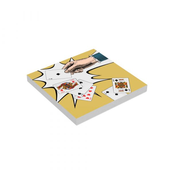 Square Paper Notepad Ace of Spades
