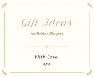 Gifts for bridge players - our gift ideas for bridge players