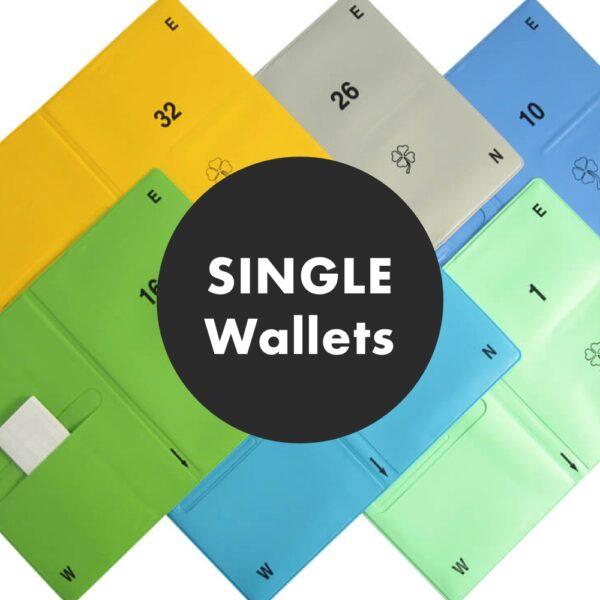Single Spare duplicate bridge wallets