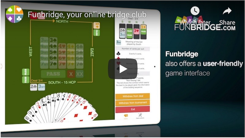 Funbridge App Video Screenshot