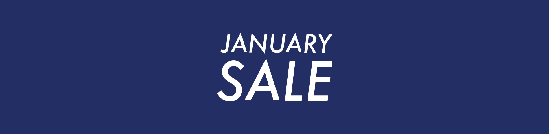 JANUARY SALES for bridge supplies