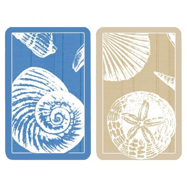 caspari shells playing cards