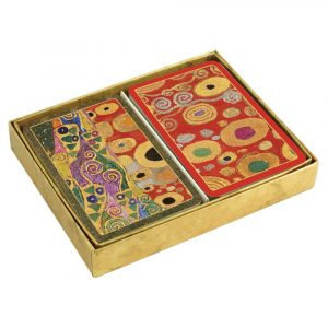 caspari vieninese nouveau presentation boxed playing cards