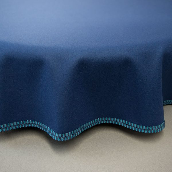bespoke custom baize round tablecloth