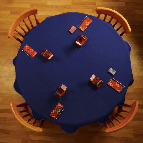 bespoke custom baize round table cloth modern interiors